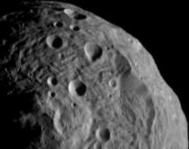 Image of Vesta Captured by Dawn on July 17, 2011