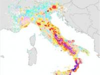 La mappa del rischio sismico in Italia