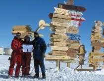 Quanta neve in Antartide