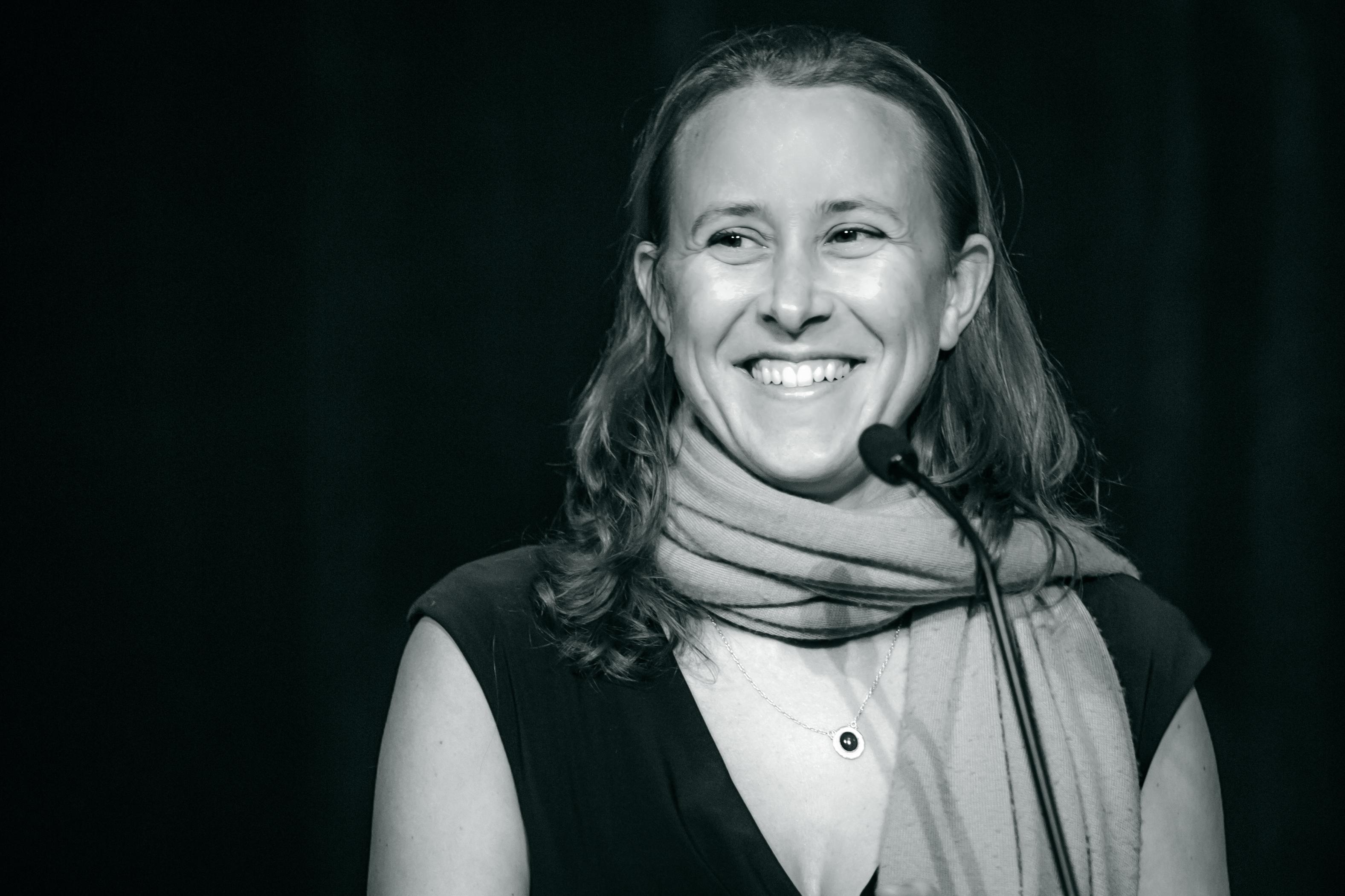 Anne Wojcicki, co-fondatrice di               23andMe, 5 aprile 2012. Credit:Thomas Hawk / Flickr. Licenza: CC BY-NC 2.0.