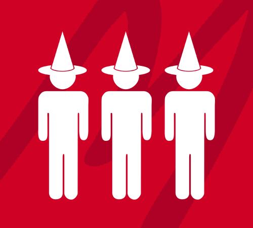 presa all'ingrosso colori delicati data di uscita: I tre prigionieri con cappelli | Scienza in rete