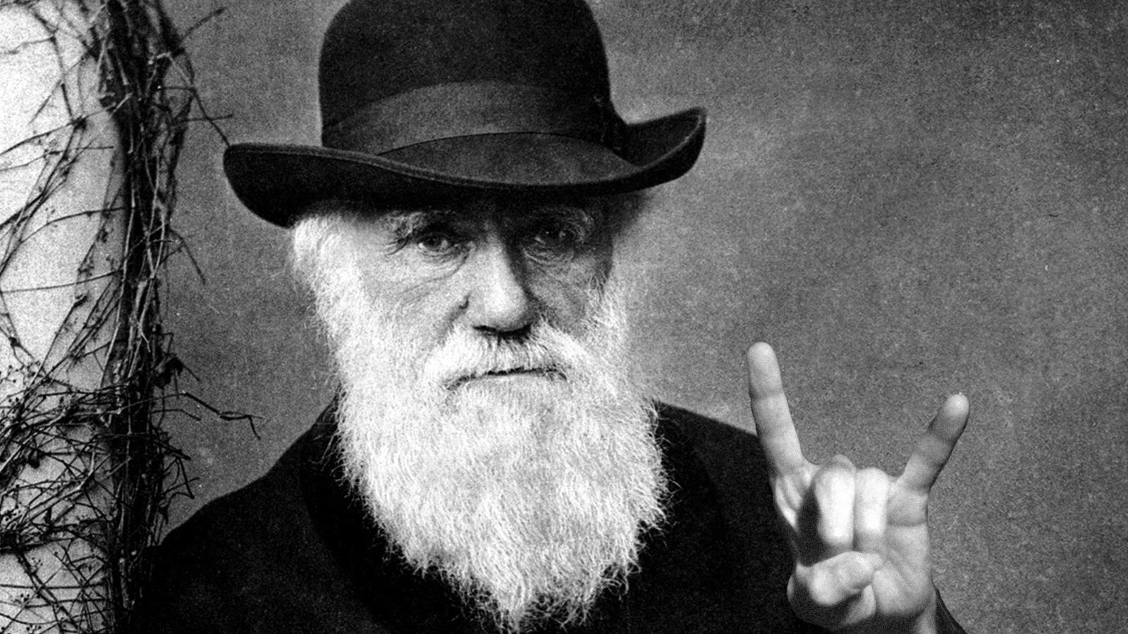 Charles Darwin. Credit: Wallpapertag.
