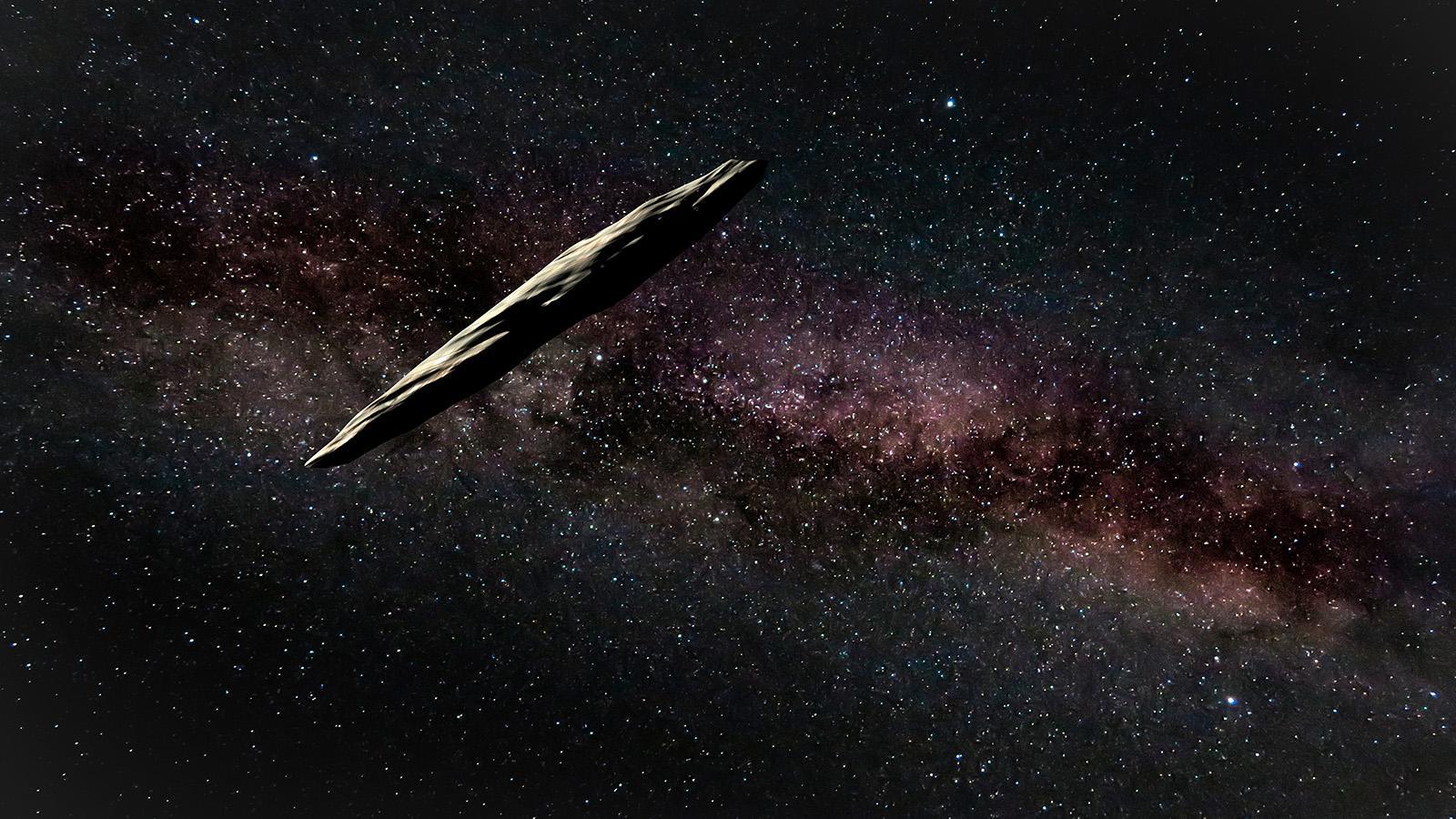 Altri: 'Oumuamua, L'intruso D'altri Mondi