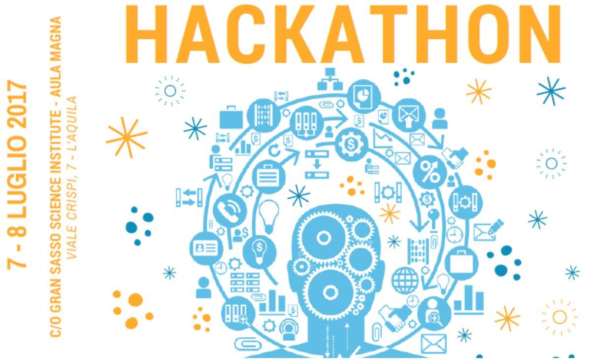 Il 7 e 8 luglio si svolgerà al GSSI dell'Aquila una hackathon sui dati della ricostruzione.