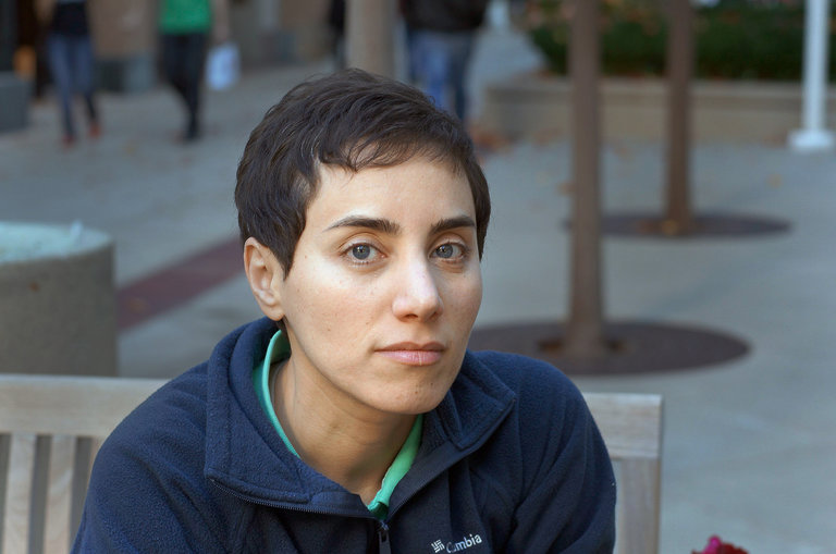 <b>Maryam Mirzakhani</b> ha vinto la <b>medaglia Fields</b> nel 2014. Credit: Stanford University.