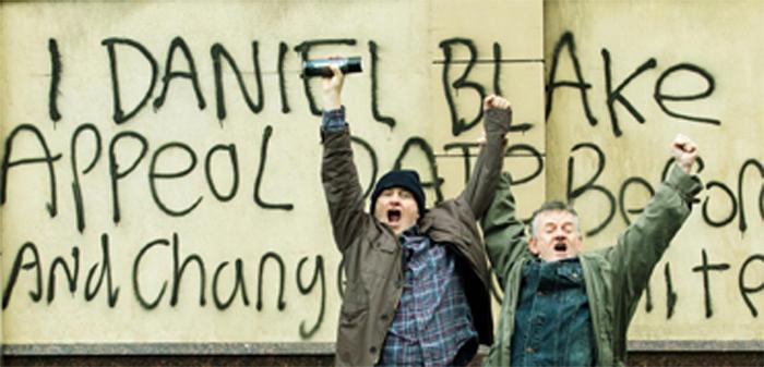 Dal film 'I, Daniel Blake' di Ken Loach, 2016. Credit: Arenapal