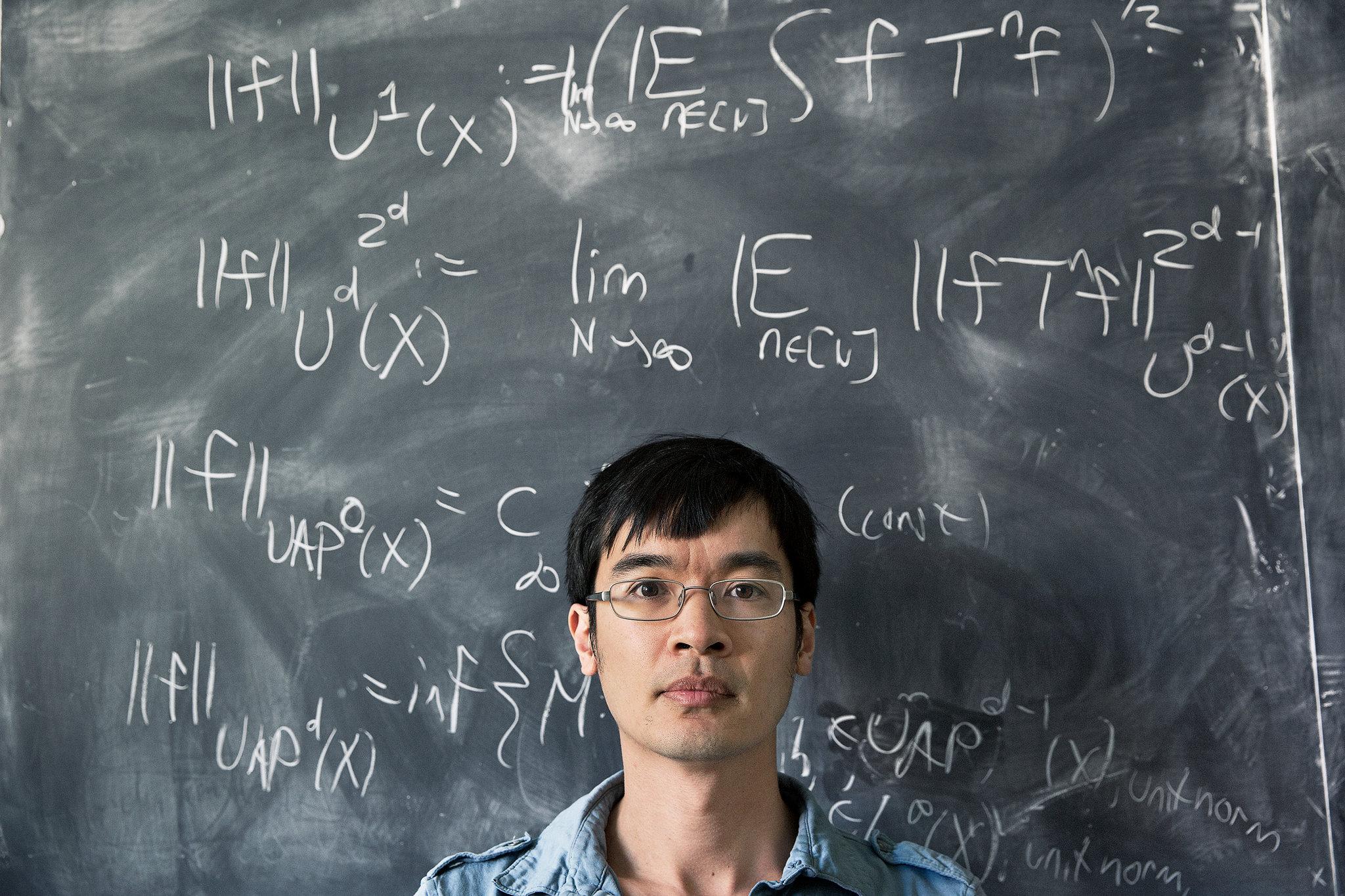 Ritratto di Terence Tao, medaglia Fields 2006. Credit: Graeme Mitchell per il New York Times.