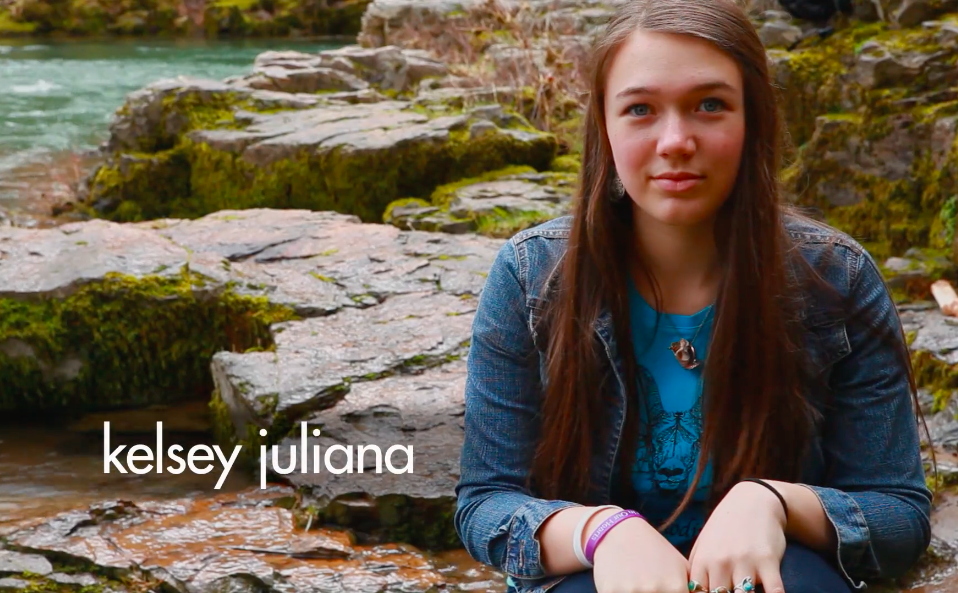 Kelsey Juliana, una dei querelanti del caso Juliana v. United States. Credit: Our Children's Trust / Vimeo. Licenza: CC BY-NC-ND 3.0.